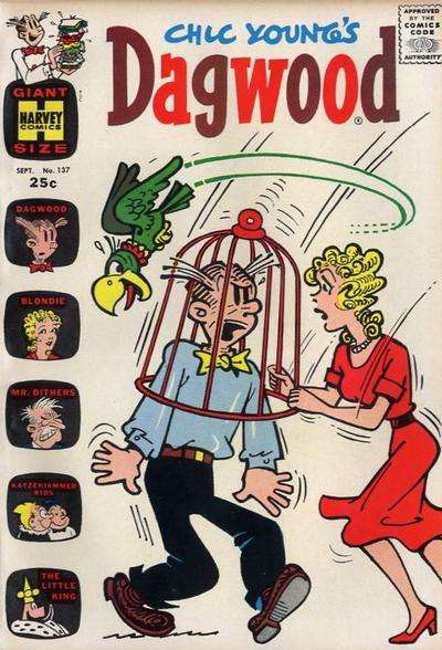 Dagwood #137 comic books - cover scans photos Dagwood #137 comic books - covers, picture gallery