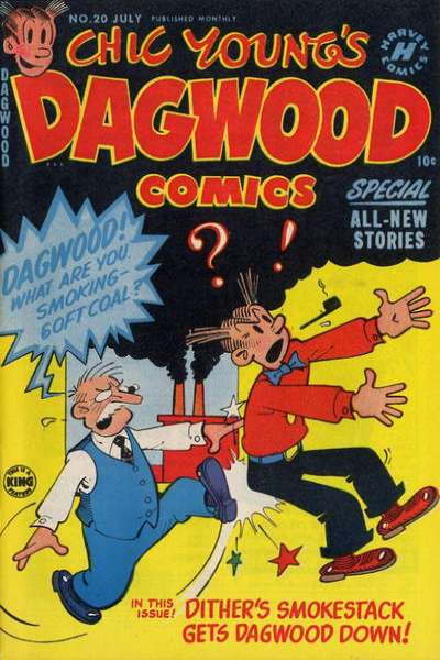 Dagwood #20 comic books for sale