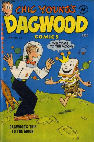 Dagwood #26 comic books - cover scans photos Dagwood #26 comic books - covers, picture gallery