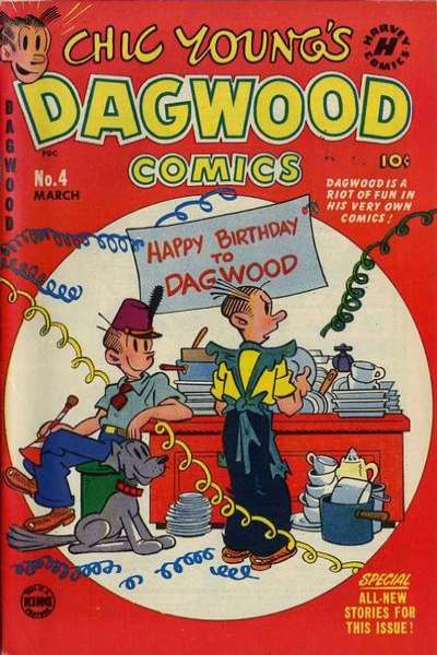 Dagwood #4 Comic Books - Covers, Scans, Photos  in Dagwood Comic Books - Covers, Scans, Gallery