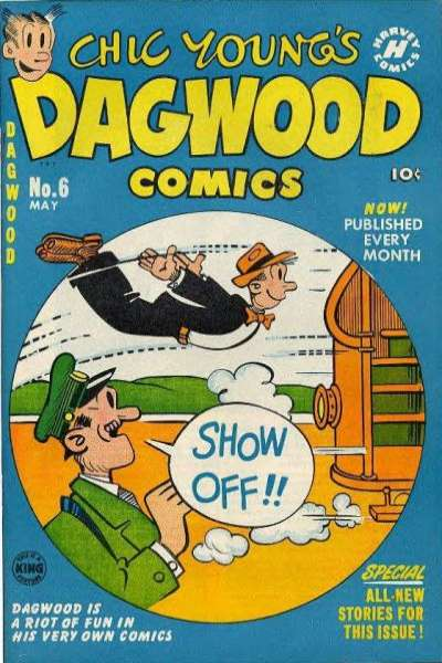 Dagwood #6 Comic Books - Covers, Scans, Photos  in Dagwood Comic Books - Covers, Scans, Gallery