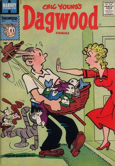 Dagwood #81 comic books for sale