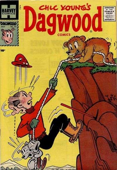 Dagwood #91 Comic Books - Covers, Scans, Photos  in Dagwood Comic Books - Covers, Scans, Gallery