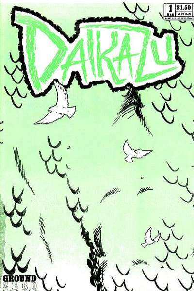Daikazu #1 comic books - cover scans photos Daikazu #1 comic books - covers, picture gallery