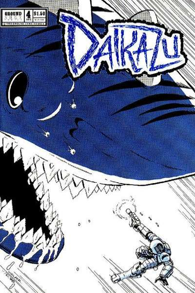 Daikazu #4 comic books - cover scans photos Daikazu #4 comic books - covers, picture gallery