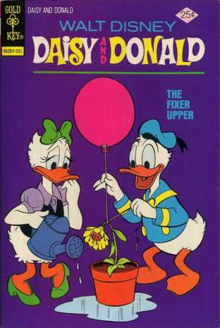 Daisy and Donald #8 comic books - cover scans photos Daisy and Donald #8 comic books - covers, picture gallery