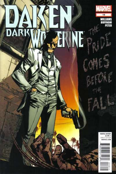 Daken: Dark Wolverine #16 comic books for sale