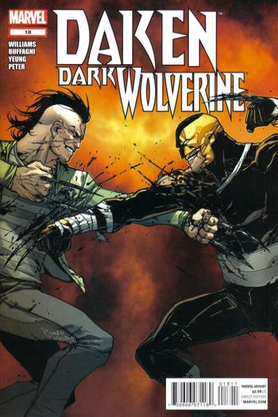 Daken: Dark Wolverine #18 comic books for sale