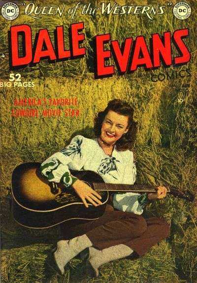 Dale Evans Comics #10 comic books - cover scans photos Dale Evans Comics #10 comic books - covers, picture gallery