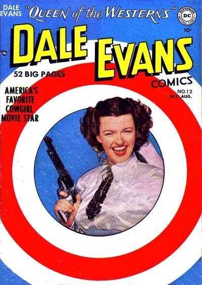 Dale Evans Comics #12 comic books - cover scans photos Dale Evans Comics #12 comic books - covers, picture gallery