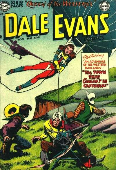 Dale Evans Comics #17 comic books for sale