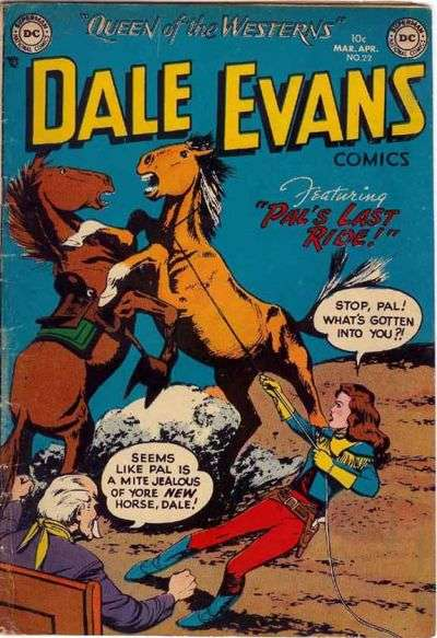 Dale Evans Comics #22 comic books for sale