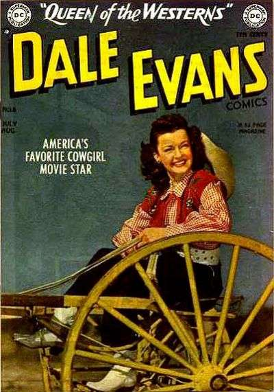Dale Evans Comics #6 comic books - cover scans photos Dale Evans Comics #6 comic books - covers, picture gallery