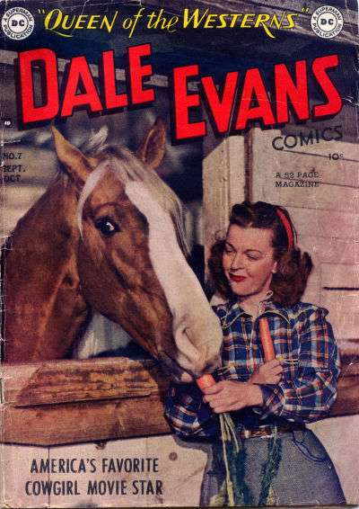 Dale Evans Comics #7 comic books - cover scans photos Dale Evans Comics #7 comic books - covers, picture gallery