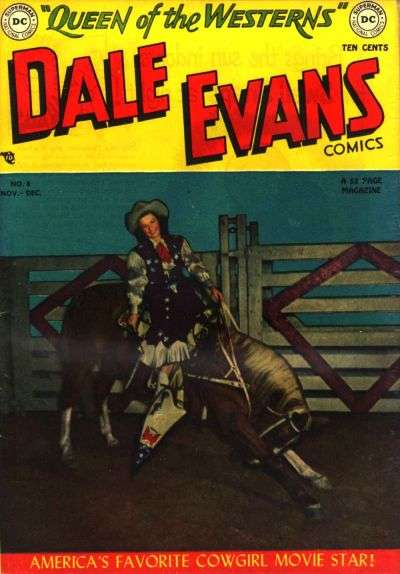 Dale Evans Comics #8 comic books - cover scans photos Dale Evans Comics #8 comic books - covers, picture gallery