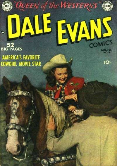 Dale Evans Comics #9 comic books - cover scans photos Dale Evans Comics #9 comic books - covers, picture gallery