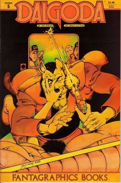 Dalgoda #5 comic books - cover scans photos Dalgoda #5 comic books - covers, picture gallery