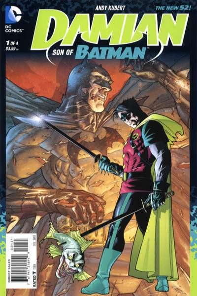 Damian: Son of Batman #1 comic books - cover scans photos Damian: Son of Batman #1 comic books - covers, picture gallery