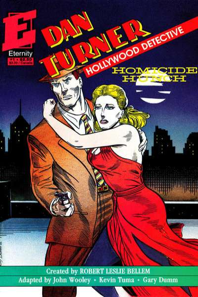 Dan Turner: Homicide Hunch #1 comic books - cover scans photos Dan Turner: Homicide Hunch #1 comic books - covers, picture gallery