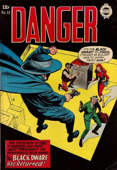 Danger #12 comic books for sale