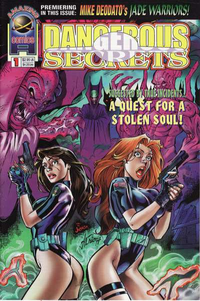 Dangerous Secrets Comic Books. Dangerous Secrets Comics.