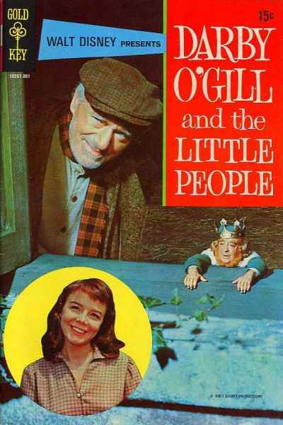 Darby O'Gill & the Little People #1 comic books - cover scans photos Darby O'Gill & the Little People #1 comic books - covers, picture gallery