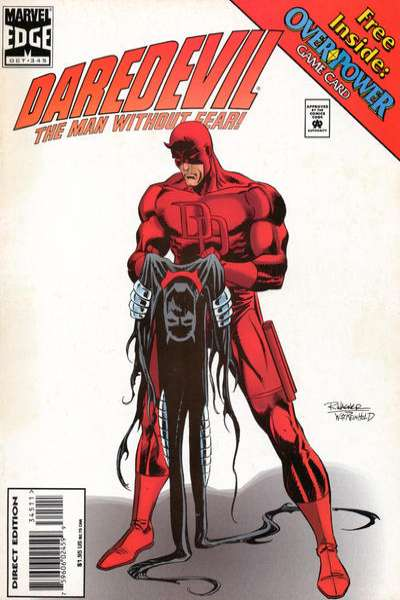 Daredevil #345 Comic Books - Covers, Scans, Photos  in Daredevil Comic Books - Covers, Scans, Gallery