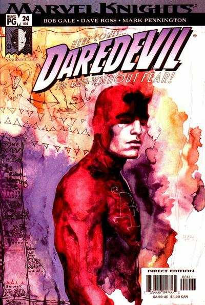 Daredevil #24 comic books - cover scans photos Daredevil #24 comic books - covers, picture gallery