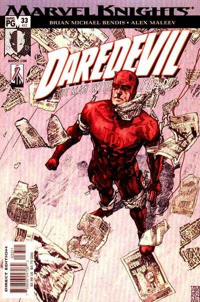 Daredevil #33 comic books - cover scans photos Daredevil #33 comic books - covers, picture gallery