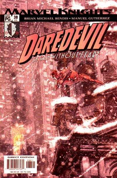 Daredevil #38 comic books - cover scans photos Daredevil #38 comic books - covers, picture gallery