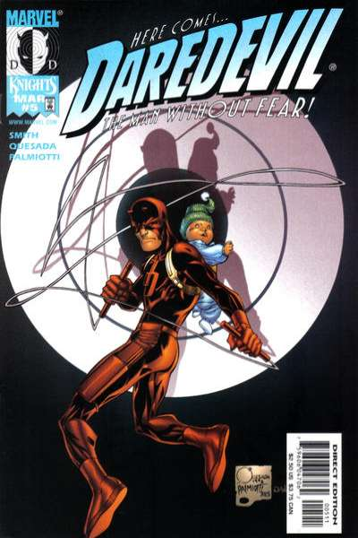 Daredevil #5 comic books - cover scans photos Daredevil #5 comic books - covers, picture gallery
