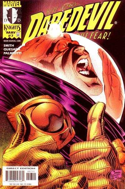 Daredevil #7 comic books - cover scans photos Daredevil #7 comic books - covers, picture gallery
