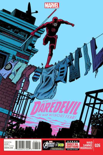 Daredevil #26 comic books - cover scans photos Daredevil #26 comic books - covers, picture gallery