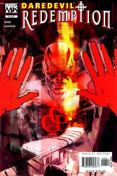 Daredevil: Redemption #6 comic books - cover scans photos Daredevil: Redemption #6 comic books - covers, picture gallery