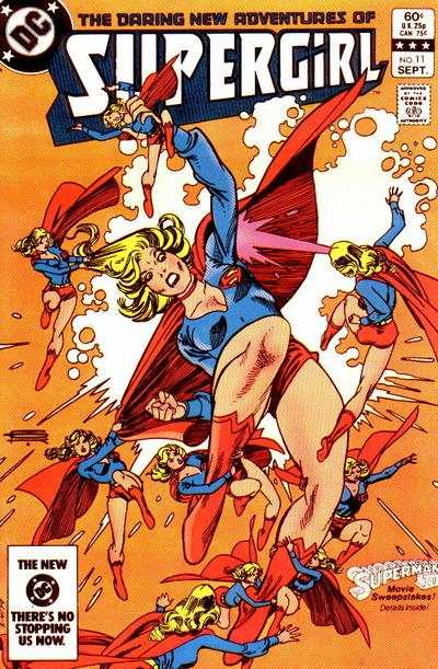 Daring New Adventures of Supergirl #11 comic books - cover scans photos Daring New Adventures of Supergirl #11 comic books - covers, picture gallery