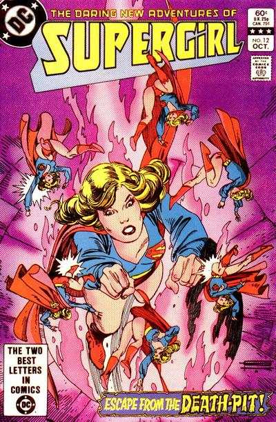 Daring New Adventures of Supergirl #12 comic books - cover scans photos Daring New Adventures of Supergirl #12 comic books - covers, picture gallery