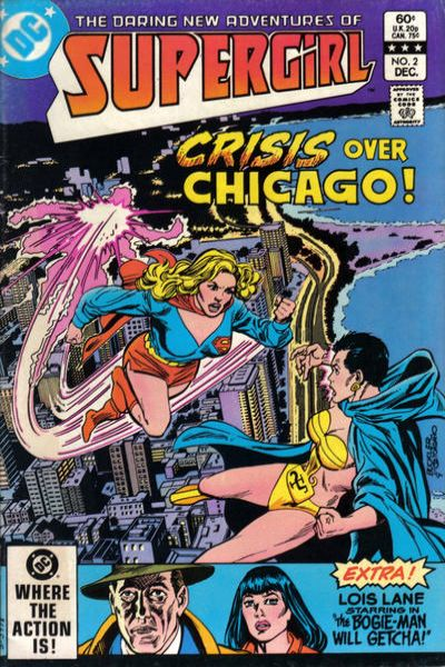 Daring New Adventures of Supergirl #2 Comic Books - Covers, Scans, Photos  in Daring New Adventures of Supergirl Comic Books - Covers, Scans, Gallery