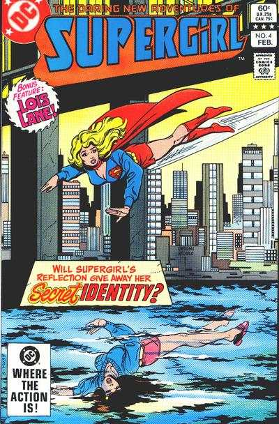 Daring New Adventures of Supergirl #4 comic books - cover scans photos Daring New Adventures of Supergirl #4 comic books - covers, picture gallery
