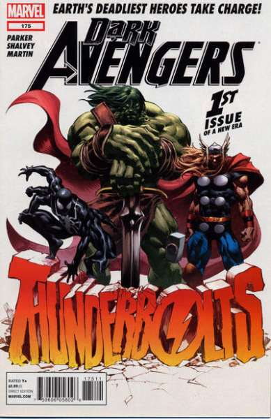Dark Avengers #175 comic books - cover scans photos Dark Avengers #175 comic books - covers, picture gallery