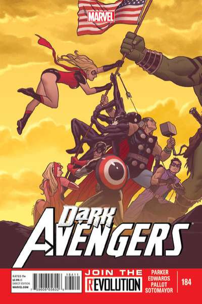Dark Avengers #184 Comic Books - Covers, Scans, Photos  in Dark Avengers Comic Books - Covers, Scans, Gallery