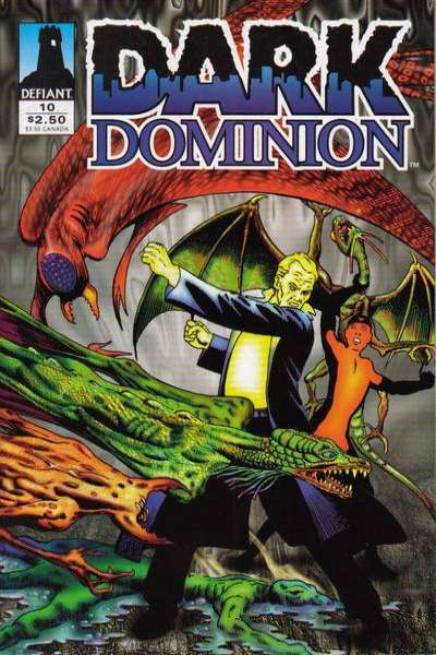 Dark Dominion #10 comic books - cover scans photos Dark Dominion #10 comic books - covers, picture gallery