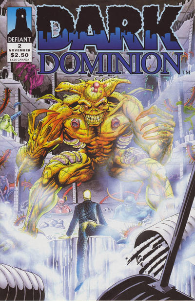 Dark Dominion #2 comic books for sale