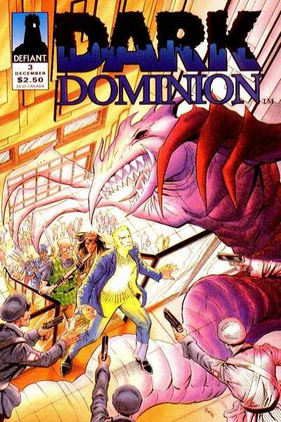 Dark Dominion #3 comic books for sale