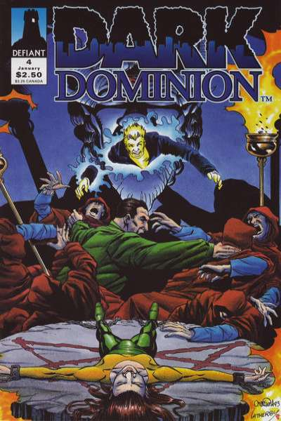 Dark Dominion #4 comic books for sale