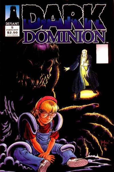Dark Dominion #5 comic books for sale