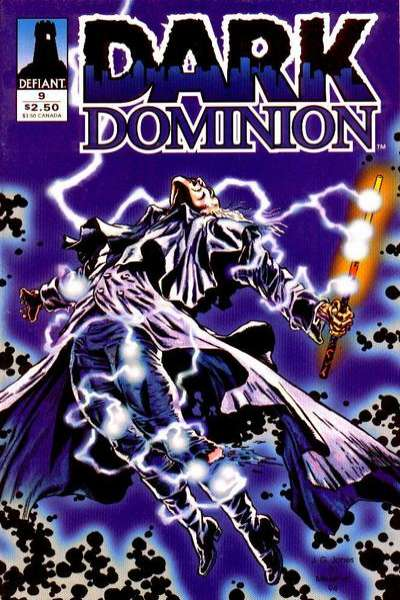 Dark Dominion #9 comic books - cover scans photos Dark Dominion #9 comic books - covers, picture gallery