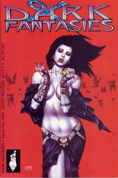Dark Fantasies Comic Books. Dark Fantasies Comics.