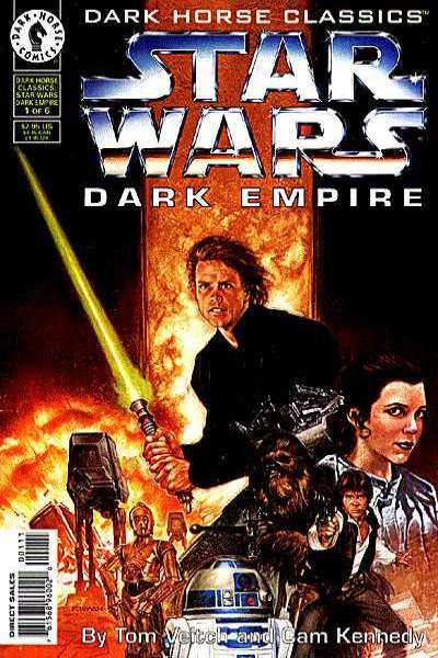 Dark Horse Classics: Dark Empire comic books