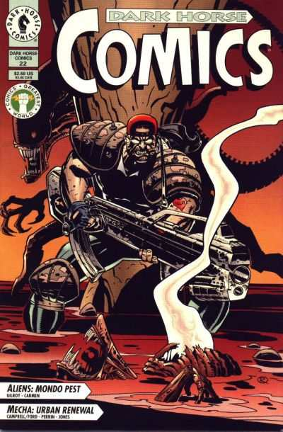 Dark Horse Comics #22 Comic Books - Covers, Scans, Photos  in Dark Horse Comics Comic Books - Covers, Scans, Gallery