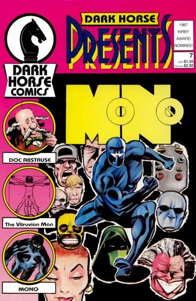 Dark Horse Presents #7 comic books - cover scans photos Dark Horse Presents #7 comic books - covers, picture gallery